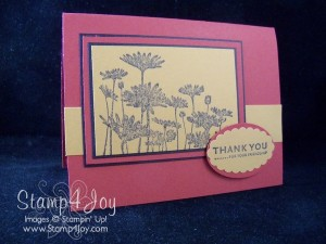 Retired Stampin' Up!:  Upsy Daisy
