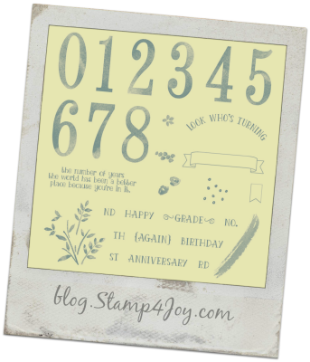 Number of Years - blog.Stamp4Joy.com