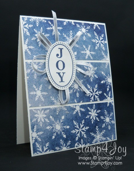 Handmade Christmas Card Sunday - Joyous Celebrations - blog.Stamp4Joy.com