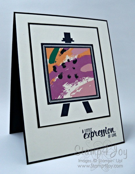 Painters Palette Love Greeting Cards - blog.Stamp4Joy.com