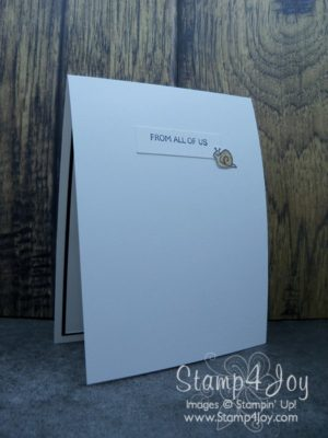 Homemade Birthday Card Greeting - www.Stamp4Joy.com
