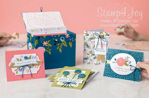 New Years Resolution - Perennial Birthday Project Kit - www.Stamp4Joy.com