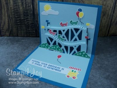 Handmade Birthday Card Ideas - Let the Good Times Roll Bundle Inside - www.Stamp4Joy.com