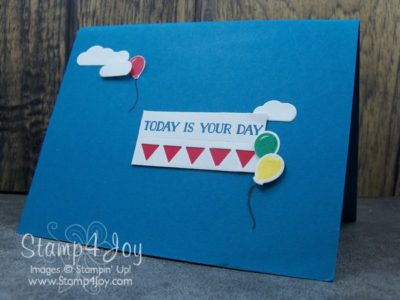 Handmade Birthday Card Ideas - Let the Good Times Roll Bundle - www.Stamp4Joy.com